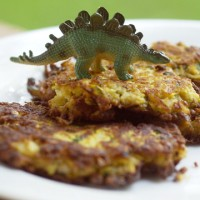 Garlicky Summer Squash Fritters