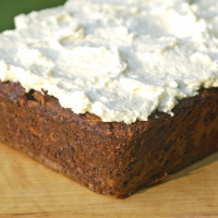 Primal Carrot Cake with Coconut and Walnuts Recipe
