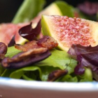 Primal Salad with Figs, Bacon and Toasted Pecans Recipe