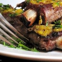 Primal Indian Spiced Ribs with Mango Sauce Recipe