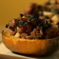 Primal Sausage-Stuffed Squash Recipe